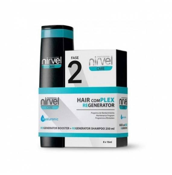NIRVEL HYALURONIC HAIR COMPLEX PROGRAMA DE MANTENIMIENTO CAPILAR