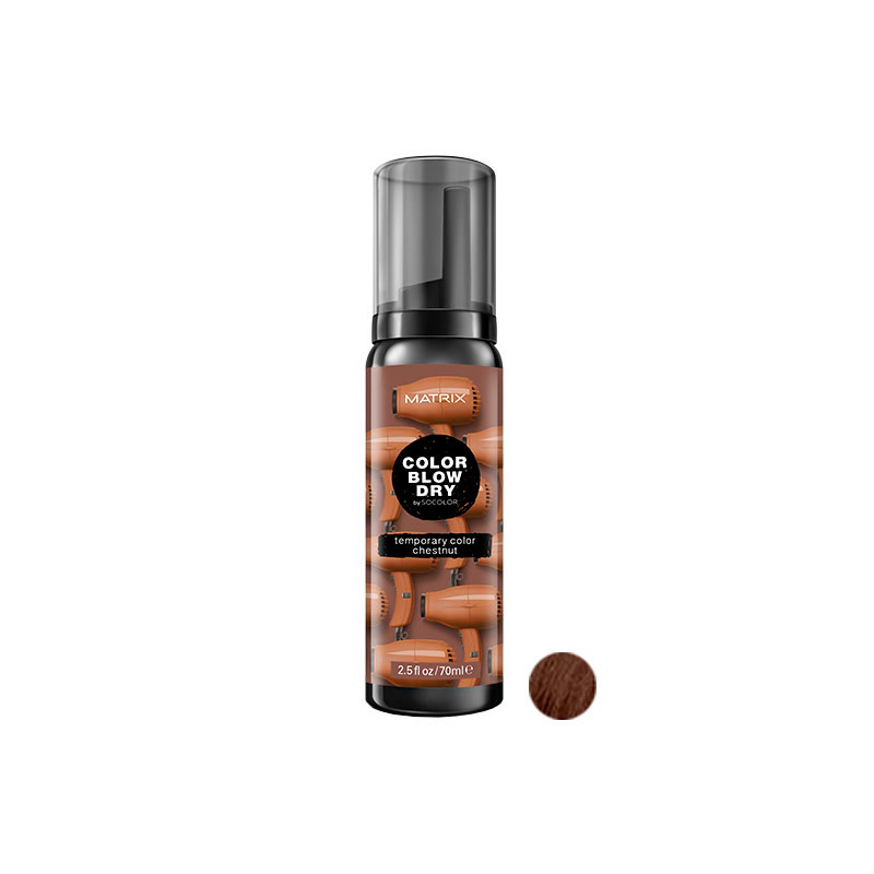 matrix-color-blow-chestnut-castaño-maquillaje-para-el-pelo