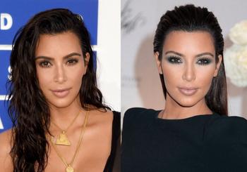kim-kardashian-pelo-efecto-mojado-dubal-cosmetics