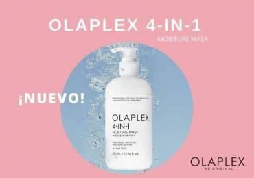 BIENVENIDO OLAPLEX 4 IN 1 MOISTURE MASK. LA MASCARILLA CONCENTRADA DE REPARACIÓN TOTAL